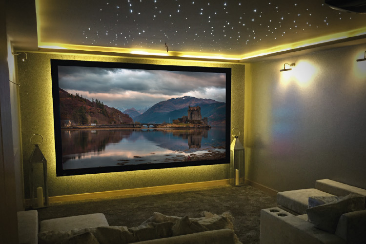Bespoke home cinemas